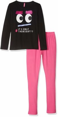 Lina Pink Girls' EF.FRIES.PL2 Pyjama Sets
