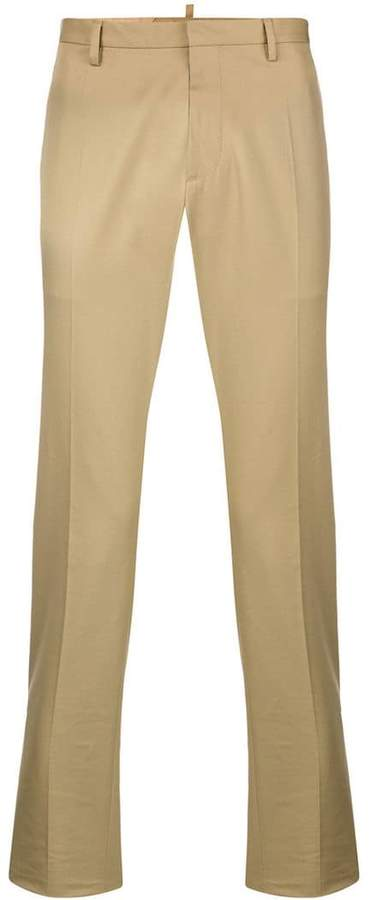 DSQUARED2 Twill chino trousers