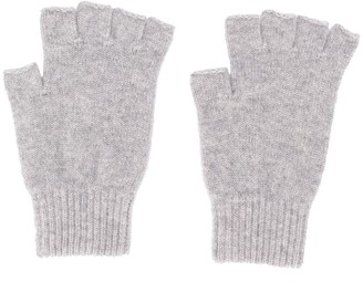 Pringle Fingerless Fine Knit Gloves