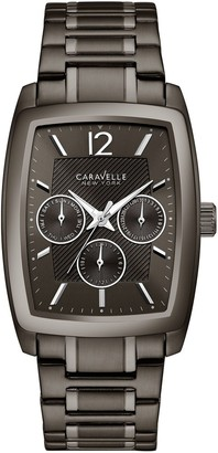 Caravelle by Bulova Men's Gunmetal Multi-Function Watch