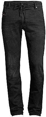 Diesel Men's Krooley Low-Rise Slim-Fit Straight-Leg Jogger Jeans