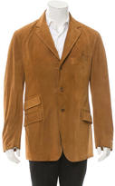Etro Suede Three-Button Jacket