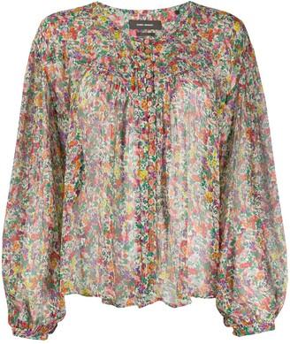 Isabel Marant Orionea floral-print blouse