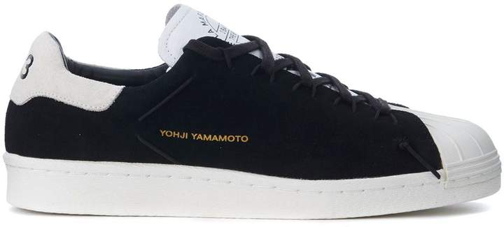 Y-3 Super Knot Black And Light Grey Suede Sneaker