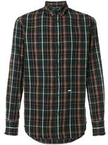 DSQUARED2 Men's Brown Cotton Shirt.