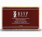 rsvp Skin Care for Men Oatmeal Spice Organic Soap Bar