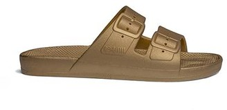 Freedom Moses Two-Strap Sandal Goldie