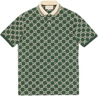 Gucci GG print polo shirt