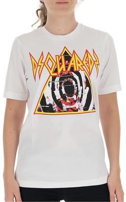 DSQUARED2 Graphic Print Crewneck T-Shirt