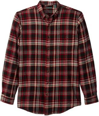G.H. Bass & Co. mens Big and Tall Fireside Flannels Long Sleeve Button Down Shirt
