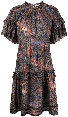 Ulla Johnson Delia floral print dress