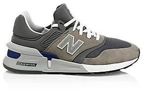 New Balance Men's 997 Nubuck & Mesh Sneakers