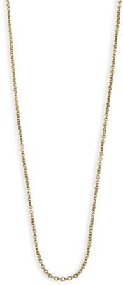 "Ippolita 18K Yellow Gold Thin Charm Chain/18"""