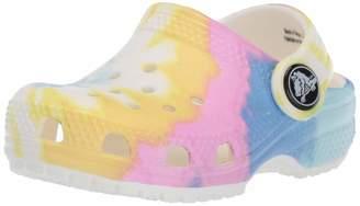 Crocs Unisex Classic Tie Dye Graphic Clog