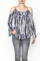 Veronica M Amy Cold Shoulder Top