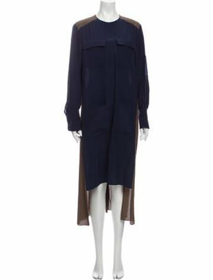 Chloé 2019 Long Dress Brown