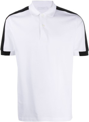 Prada Side Stripe Polo Shirt