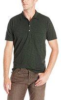 7 For All Mankind Men's Lightweight Short Sleeve Polo Shirt