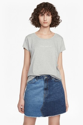 French Connection Fashion Short Sleeved T Shirt