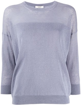 Peserico Three-Quarter Sleeve Jumper
