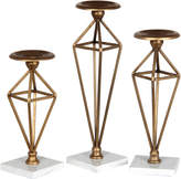 Privilege Set Of 3 Candle Holders