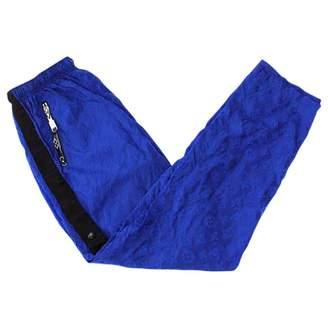 Louis Vuitton Blue Trousers for Women
