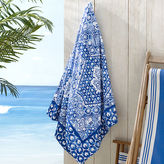Ralph Lauren Textured Mosaic Beach Towel