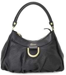 Gucci Vintage Leather Hobo Bag