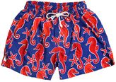 Selini Action Seahorse Printed Swim Shorts