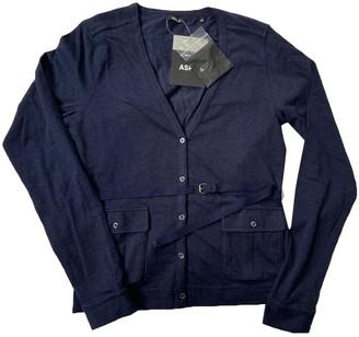 Aspesi Blue Cotton Knitwear for Women