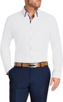 TAROCASH Primo Slim Textured Shirt