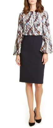 Ted Baker Caalla Quartz Long Sleeve Dress
