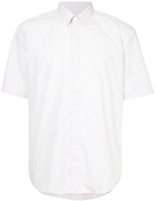 Cerruti gingham short sleeve shirt