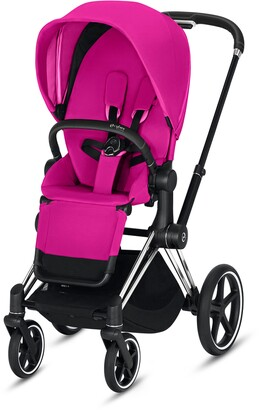 CYBEX e-Priam Chrome Electronic Stroller with All Terrain Wheels