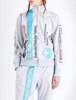 Moschino Capsule-print shell jacket