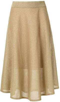 Cecilia Prado glitter midi skirt