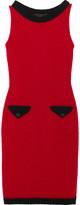 Moschino Wool-blend bouclé mini dress