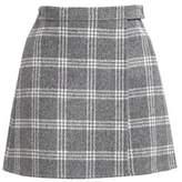 Theory Mini Plaid Skirt