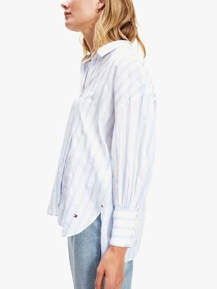 Tommy Hilfiger Stripe Shirt, White/Multi