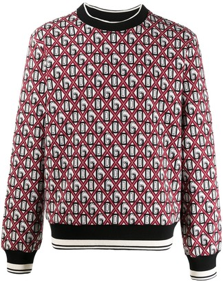 Dolce & Gabbana Logo Print Jumper
