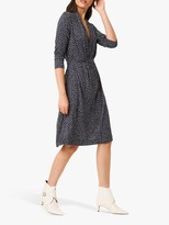 French Connection Chinwe Jersey Dress, Nocturnal/Multi