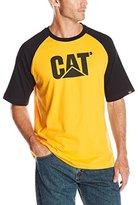Caterpillar Men's Raglan Trademark T-Shirt