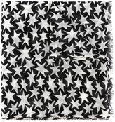 Saint Laurent star print scarf