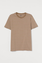 H&M Round-neck T-shirt Regular Fit