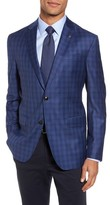 Ted Baker Men's Konan Trim Fit Plaid Wool Sport Coat