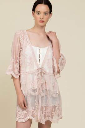 POL Lace Kimono