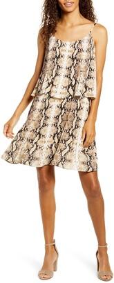 Gibson x City Safari Tara Pleated Popover Dress