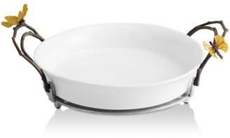 Michael Aram Butterfly Ginkgo Pie Plate