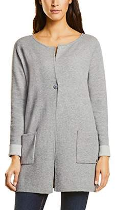Street One Women's Doubleface Cardigan with StarDetail(Size: 38)