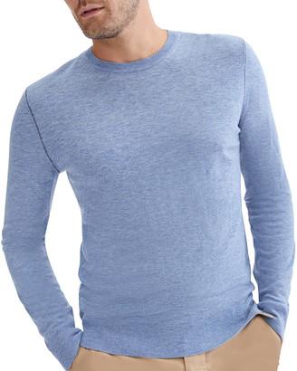 7 For All Mankind Men's Merino Wool Crewneck Sweater